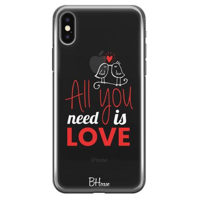 All You Need Is Love Coque iPhone X/XS