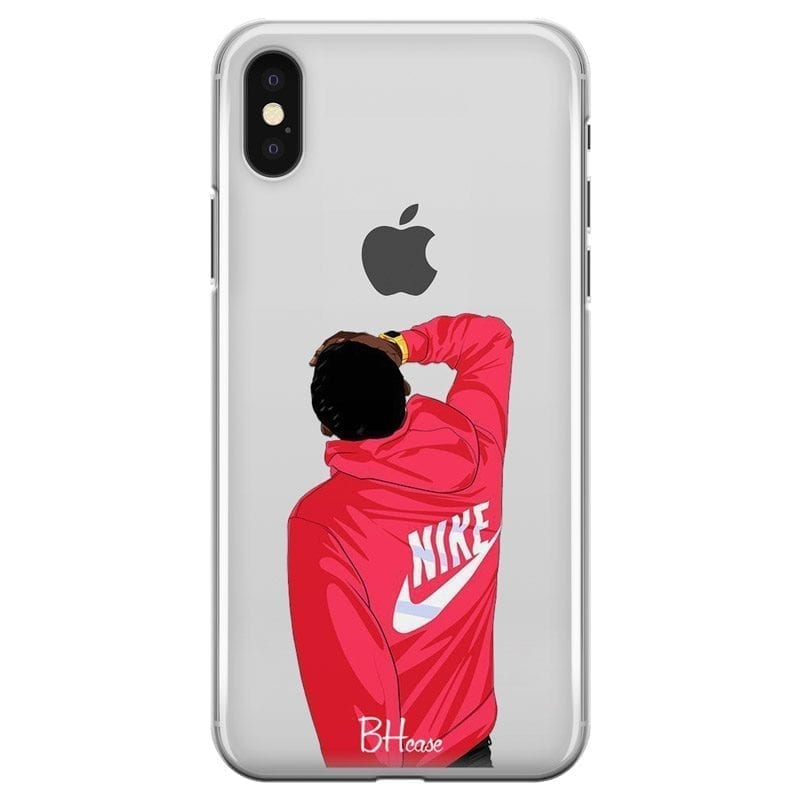 Back Boy Nike Coque iPhone X/XS