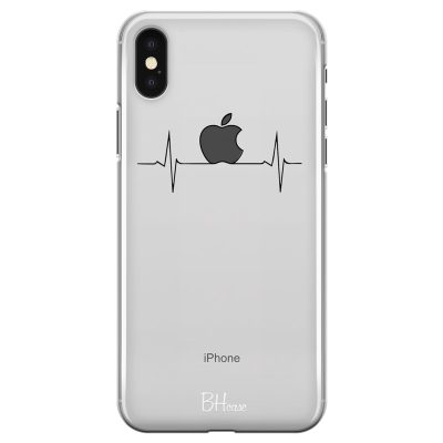 Heart Rate Apple Coque iPhone X/XS