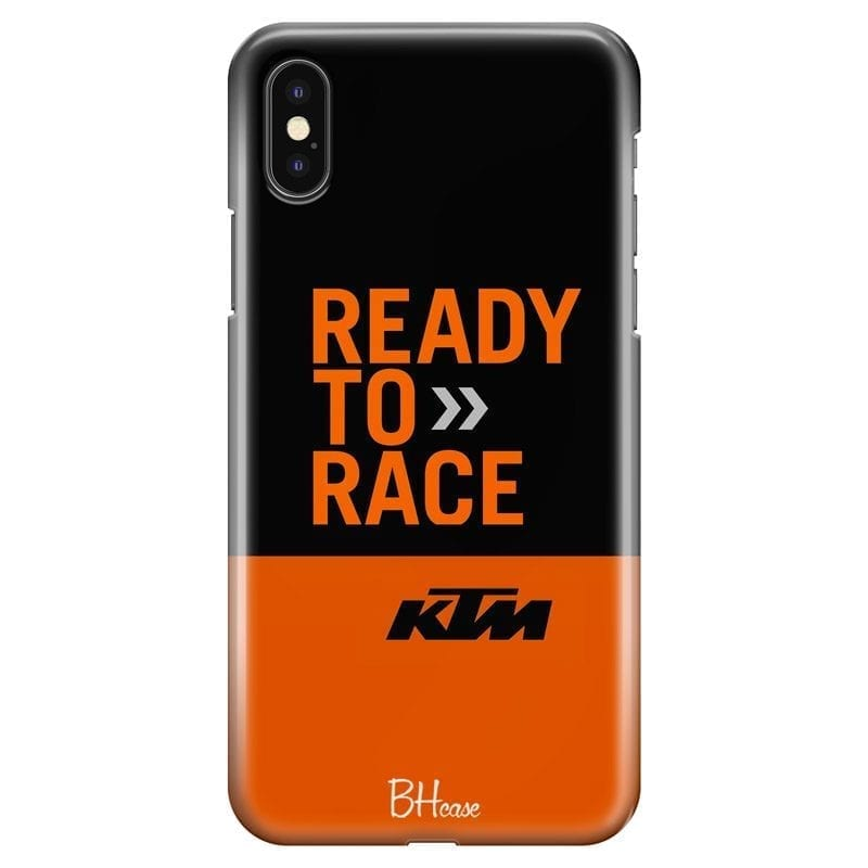 KTM Ready To Race Coque iPhone X/XS