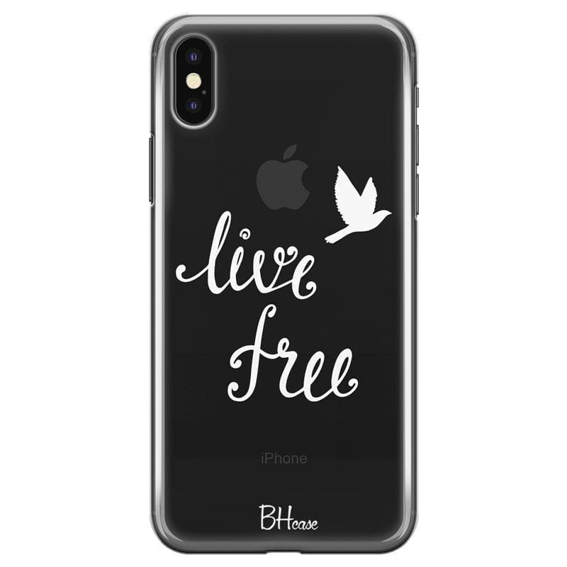 Live Free Coque iPhone X/XS