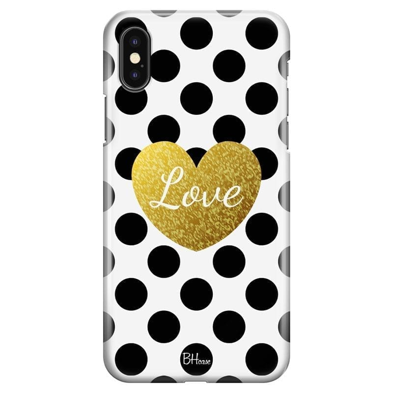 Love Dots Coque iPhone X/XS