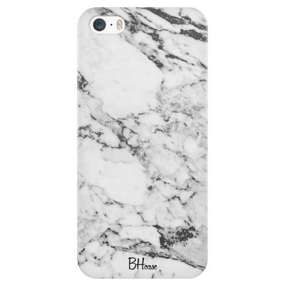 Marble White Case iPhone SE/5S