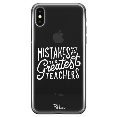 Mistakes Coque iPhone XS Max