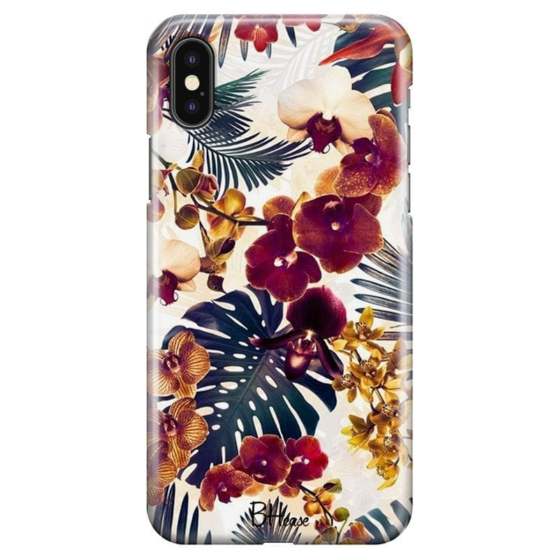 Tropical Floral Coque iPhone X/XS