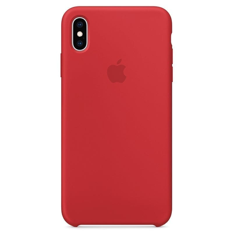 Apple Product Red Silicone Coque iPhone X