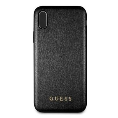 Guess Iridescent Black Coque iPhone XS Max