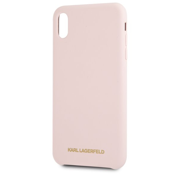 coque iphone xr silicone rose gold