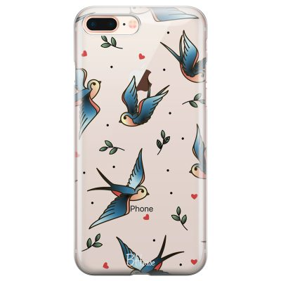 Birds Tattoo Coque iPhone 7 Plus/8 Plus