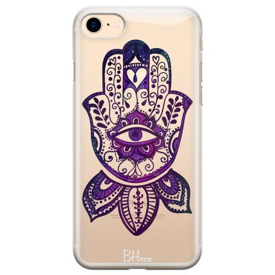 Bohemian Purple Hand Coque iPhone 7/8