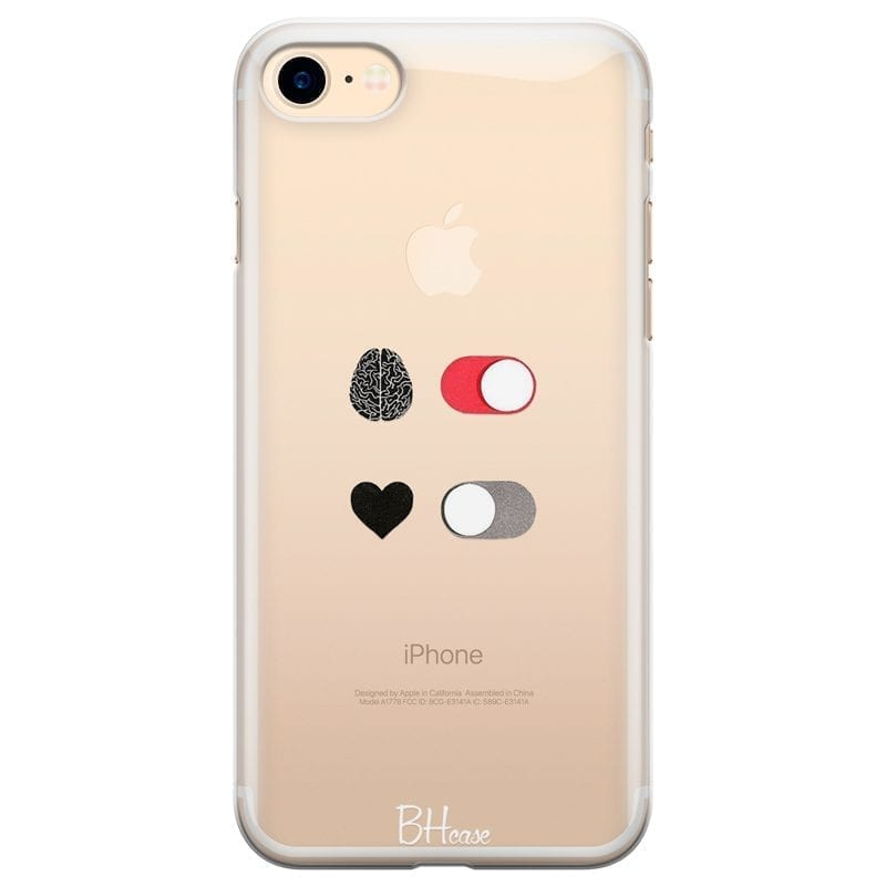 Brain On Heart Off Coque iPhone 7/8