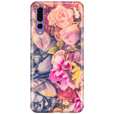 Colorful Flowers Coque Huawei P20 Pro
