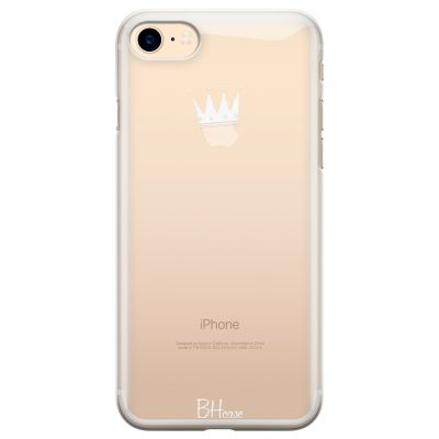 Crown Apple Coque iPhone 8/7/SE 2 2020