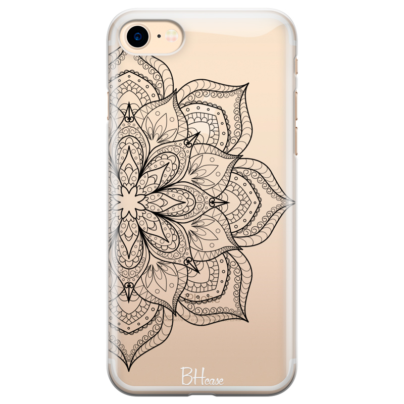 Flower Mandala Coque iPhone 8/7/SE 2 2020