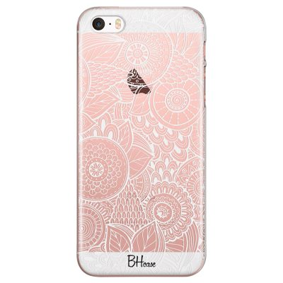 Flower Pattern Coque iPhone SE/5S