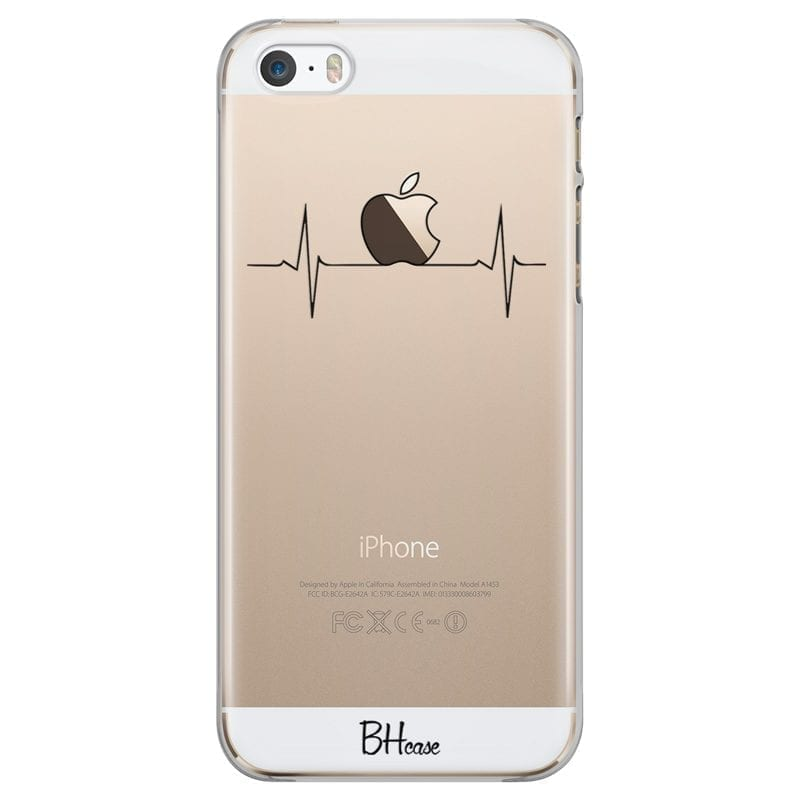 Heart Rate Apple Coque iPhone SE/5S