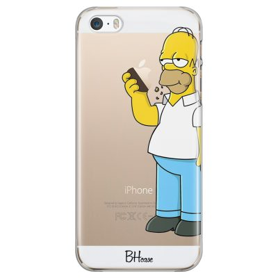 Homer Simpson Coque iPhone SE/5S