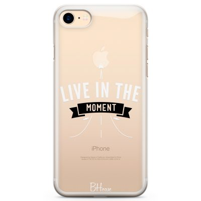 Live In The Moment Coque iPhone 8/7/SE 2 2020