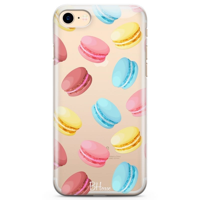 Macarons Coque iPhone 8/7/SE 2 2020