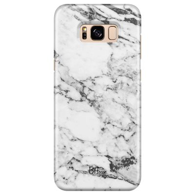 Marble White Coque Samsung S8 Plus