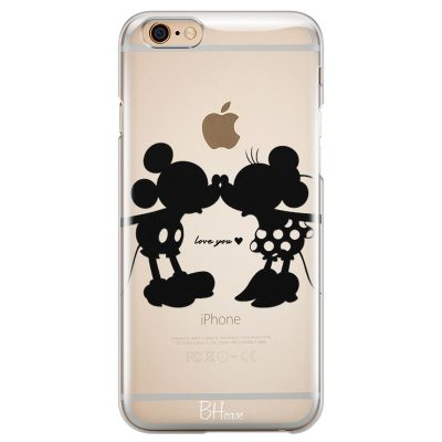 Minnie & Mickey Mouse Coque iPhone 6/6S