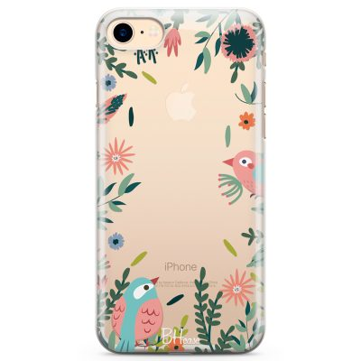 Nature Birds Coque iPhone 7/8
