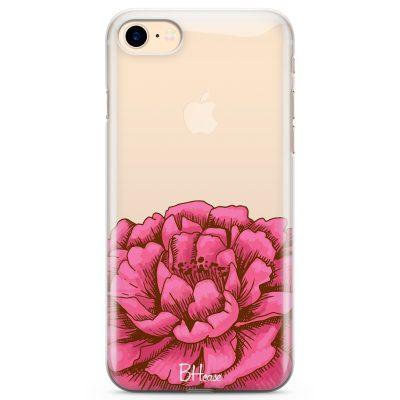 Peony Pink Coque iPhone 8/7/SE 2 2020