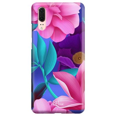 Pinky Floral Coque Huawei P20