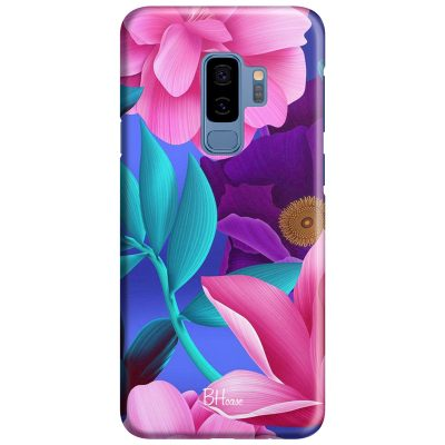Pinky Floral Coque Samsung S9 Plus