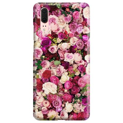 Roses Pink Coque Huawei P20