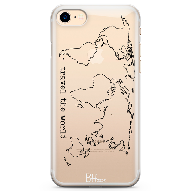 Travel The World Coque iPhone 8/7/SE 2 2020