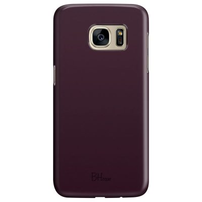 Blood Red Color Coque Samsung S7