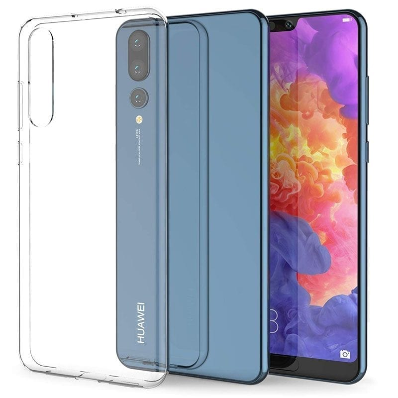 Clear Transparent Coque Huawei P20 Pro