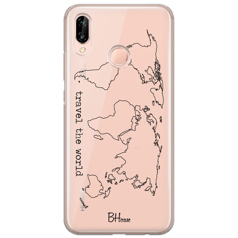 Travel The World Coque Huawei P20 Lite