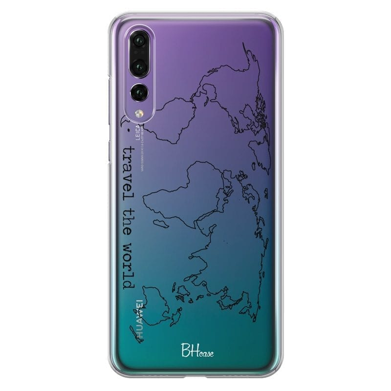 Travel The World Coque Huawei P20 Pro