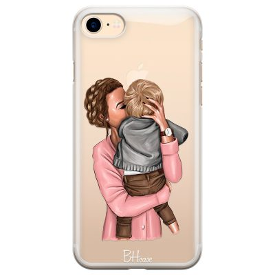 Mom With Baby Coque iPhone 7/8