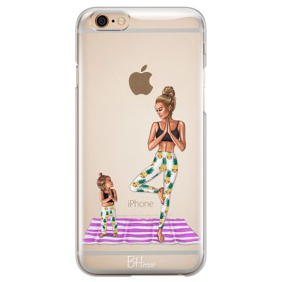 Mom Yoga Coque iPhone 6 Plus/6S Plus
