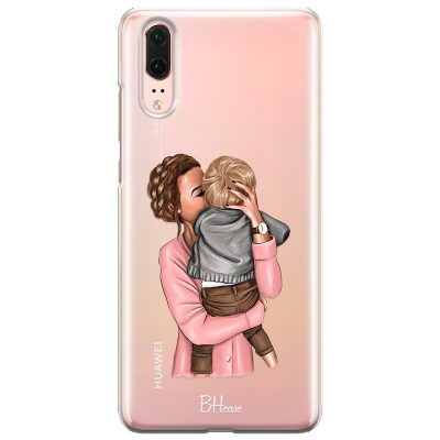 Mom With Baby Case Huawei P20