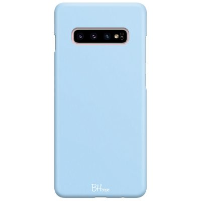 Baby Blue Color Case Samsung S10