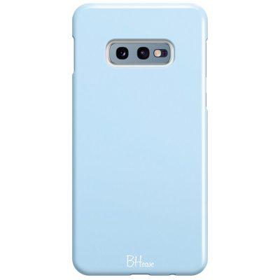 Baby Blue Color Coque Samsung S10e