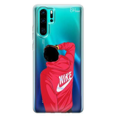 Back Boy Nike Case Huawei P30 Pro