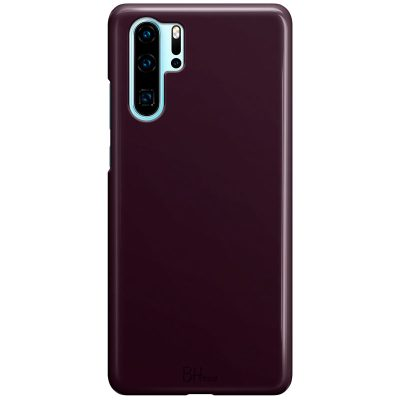 Blood Red Color Case Huawei P30 Pro
