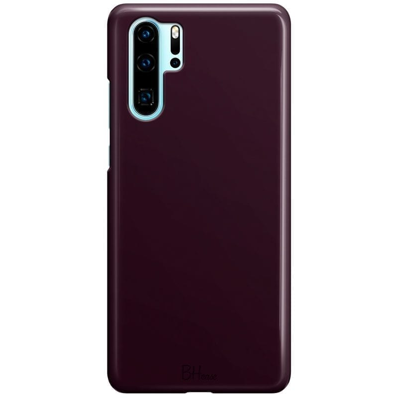 Blood Red Color Coque Huawei P30 Pro