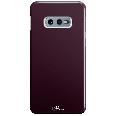 Blood Red Color Coque Samsung S10e