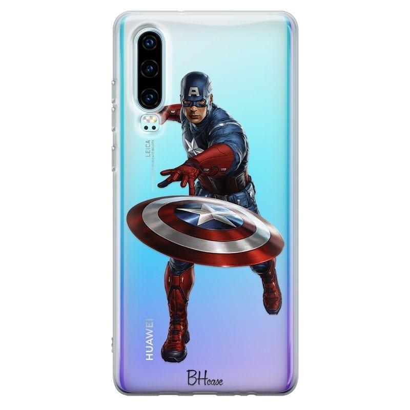 Captain America Case Huawei P30