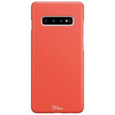 Fire Opal Color Case Samsung S10