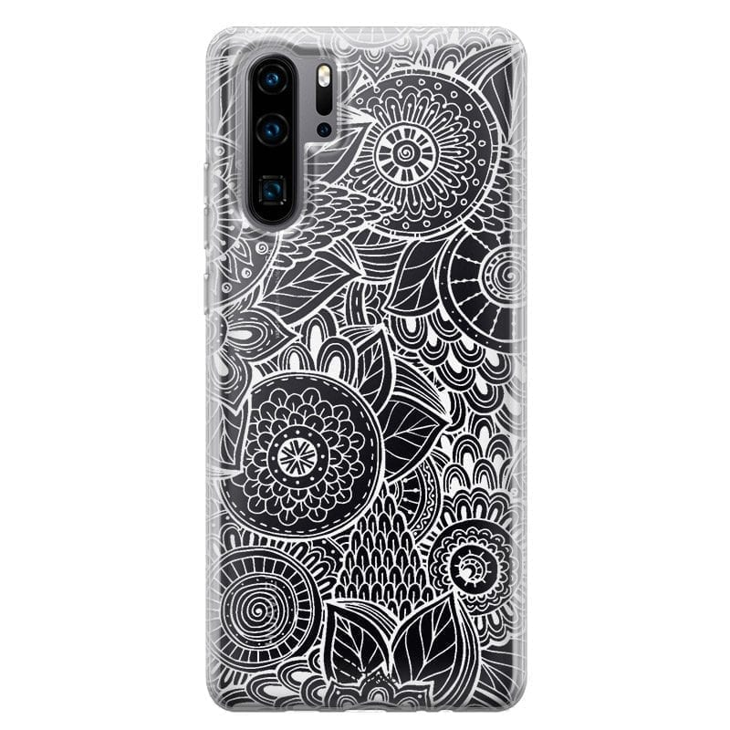 Flower Pattern Coque Huawei P30 Pro