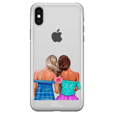 Girl Friends Coque iPhone X/XS