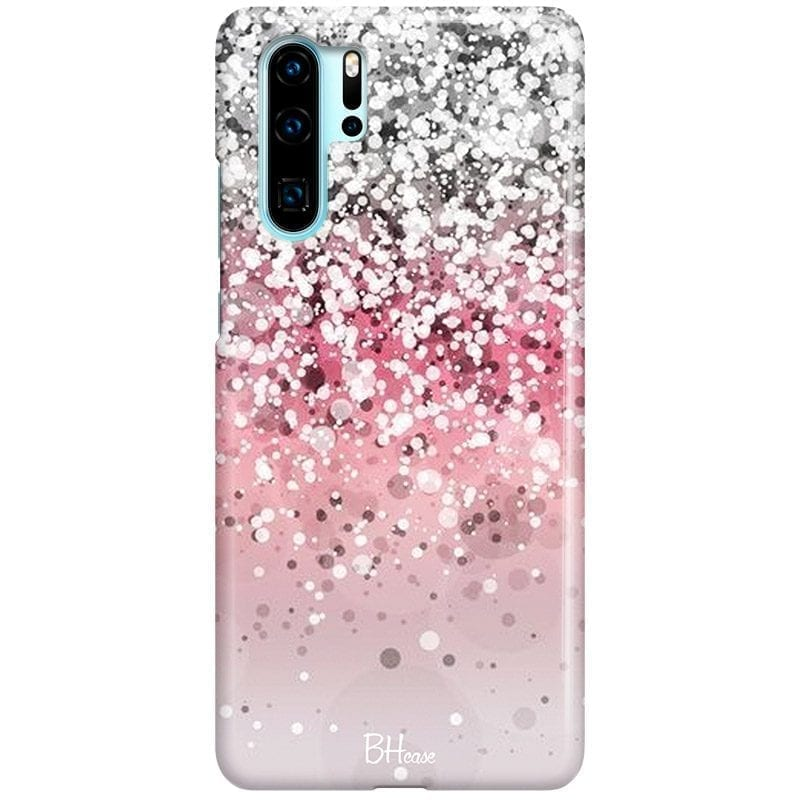 Glitter Pink Silver Coque Huawei P30 Pro
