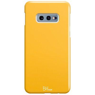Honey Yellow Color Coque Samsung S10e